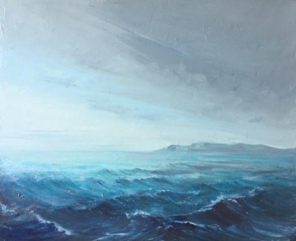 «Port-Cros », huile sur toile, 60-73 cm (NON DISPONIBLE)